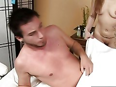 Blondes Massage