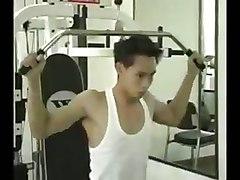 gay man gay hunk handsome muscle model nipples pectora