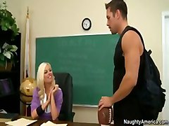 britney hardcore blonde school