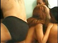 Ebony Group Gangbang Black-haired Blowjob Brunette Cum Shot Cum Swap Ebony Gangbang Licking Vagina Oral Sex Piercings Pornstar Vaginal Sex Angel Eyes Misty Mason