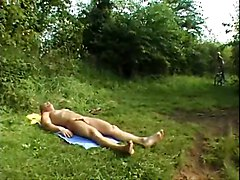 German European Anal Outdoor Blonde TeenCum Anal Ass European
