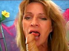dildo masturbation solo hairypussy granny