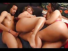 BBW Threesome ffm mature