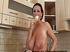 Big Tits Kitchen Solo Girls boobs mature softcore