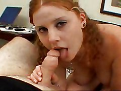 Blowjobs Redheads amateur bedroom chubby girl