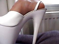 Anal Interracial Anal Sex Blowjob Brunette Caucasian Couple Cum Shot High Heels Interracial Oral Sex Vaginal Sex Angel Dark