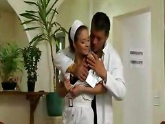 Hot Nurse fucking a patient