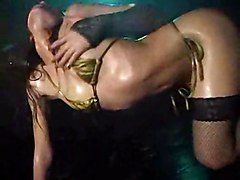 oiled erotic panties striptease ass tight cute dancing club