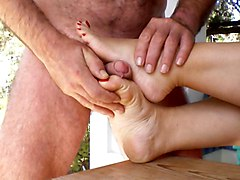 Close-ups Cumshots Foot Fetish