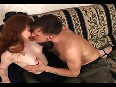 Redhead Caucasian Couple Cum Shot Kissing Licking Vagina Masturbation Oral Sex Redhead Russian Tattoos Vaginal Masturbation Vaginal Sex
