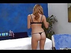 Babes Lingerie Massage ass