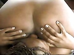 Black and Ebony Fingering Lesbians