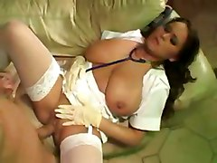 nurse big tits natural tits