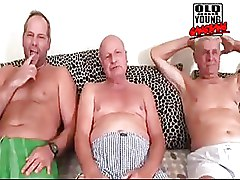 Piss  Old And Young Gangbang
