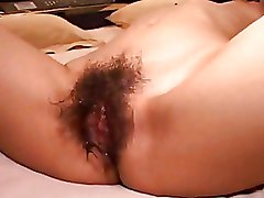 Amateur Asian Hairy Pussy