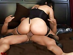 Anal Milf Stockings ass bigcock brunette latina pornstar