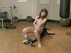 Fucking Machines Gym Kink Masturbation video