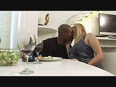 Black and Ebony Interracial Threesomes