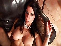 MILF Black-haired Blowjob Caucasian Couple Cum Shot Deepthroat High Heels MILF Masturbation Oral Sex Stockings Vaginal Masturbation Vaginal Sex Kendra Secrets