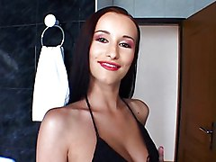 Anal Anal Sex Black-haired Caucasian Couple Cum Shot High Heels Licking Vagina Oral Sex Stockings Vaginal Sex