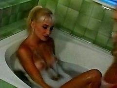 Big Tits Lesbian Blonde Vintage Bathroom Big Tits Blonde Caucasian Lesbian Licking Vagina Masturbation Oral Sex Vaginal Masturbation Vintage Julia Ann Vixxxen