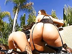 FFM Group Sex Kelly Divine Threesome