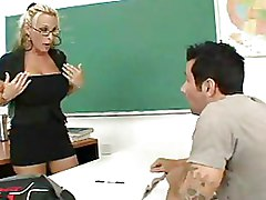 Classroom Teachers blonde boobs