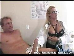 hardcore blonde milf blowjob glasses bigtits pussyfucking