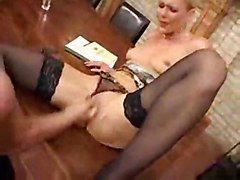 anal stockings cumshot facial blonde milf fingering mature deepthroat asstomouth
