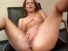 blonde fingering squirting masturbation solo
