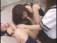 Japanese Lesbians Strapon