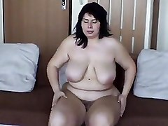 Hairy Milf softcore solo