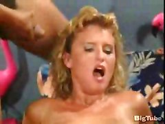 black dick threesome white chick anal dp