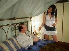 Hot Teen Cure Old Man