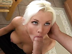 blonde  cute  sexy  milf  hairstyle  stylish  blowjob  home  kitchen  skinny  female teacher  blue eyes  blowjob  lick  table Brandi Edwards  Brad Thunders