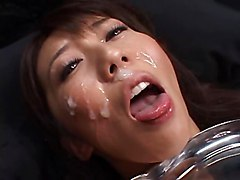 Bukkake Japanese Masturbation