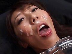 Bukkake Japanese Masturbation