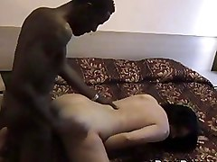 Bedroom Doggy Style Hardcore Interracial Spycam Voyeur