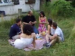 French Group Sex Public Nudity