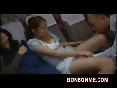 fuck daughter sleeping bus teenager mom japanese