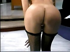 stockings latina bigtits masturbation solo shaving