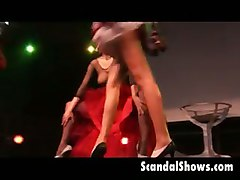 stripper party amateur audience strip tease public
