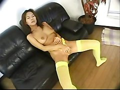 stockings cumshot hardcore oiled blowjob fingering asian pussyfucking sextoys
