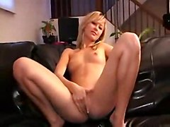 blonde masturbation solo softcore