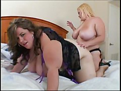 BBW Lesbians Strapon