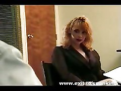 BDSM Office Spanking