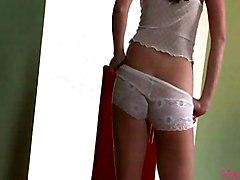 Masturbation Lingerie Black-haired Caucasian Lingerie Masturbation Pornstar Solo Girl Vaginal Masturbation Taylor Vixen