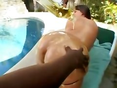 brunette natural tits mom lingerie interracial bbw blowjob big ass outdoor oil creampie cum