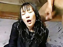 Asian Bukkake Facials