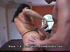 latina swallow blowjob